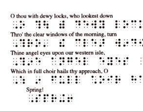 Brailline